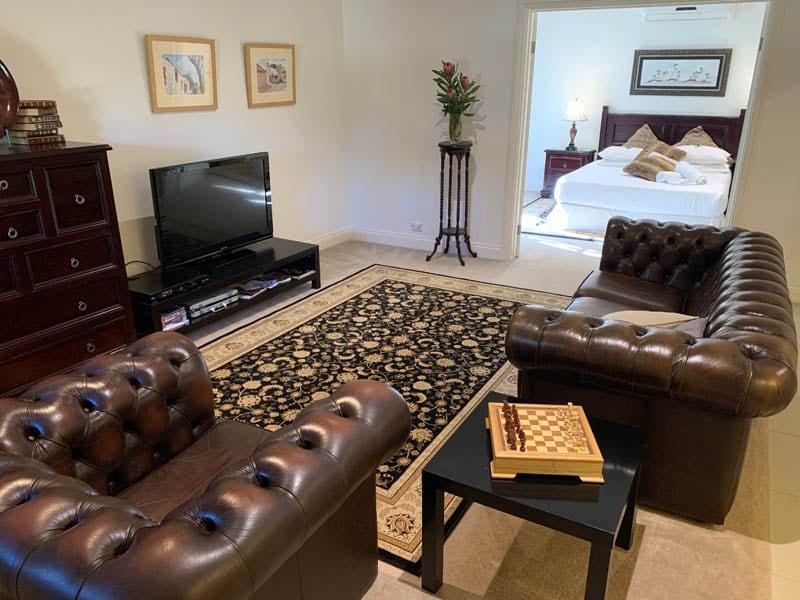 Relaxing Spa Suite Luxury Accommodation McLaren Vale Fleurieu Peninsula South Australia